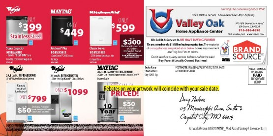 03JP2078WP Mad Savings Back of Mailer