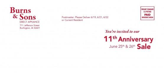 11435 Burns&Sons Envelope