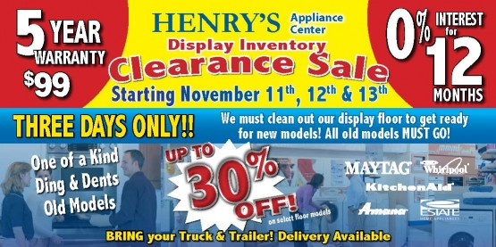 11737 Henrys App Springfield IL Front of Mailer